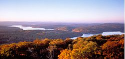 Deep Creek Lake Maryland Panoramic View