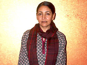 Deepti Naval at the special screening of her film Memories in March (2011)