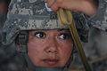 Defense.gov News Photo 100621-F-6875C-212 - U.S. Army Staff Sgt. Amanda Garcia with the 82nd Airborne Division practices jumping techniques during a joint forcible entry exercise at Pope.jpg