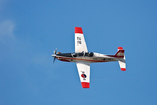 Demonstration Flight of ROKAF New Light Trainer KT-1 'Woongbi'
