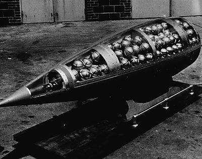 A chemical cluster warhead for the US Army MGR-1 rocket.  Fill the submunition with sarin.