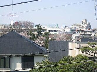 Den-en-chōfu - A typical view in Den-en-chōfu