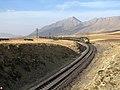 Der höchste Punkt des Iran Eisenbahn Mit 2217 Meter und (Shahbaz) Mit einer Höhe von 3338 Metern der höchste Gipfel in Central Province -Arak - panoramio.jpg
