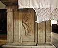 Desiderio da settignano (lati) e agostino di duccio (trinità), altare di ss. trinita, 1450 ca. 02.JPG