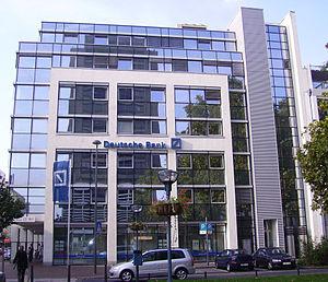 Ludwigsplatz in Ludwigshafen, Germany