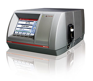 Oscillating U-tube - Digital density meter with oscillating U-tube installed