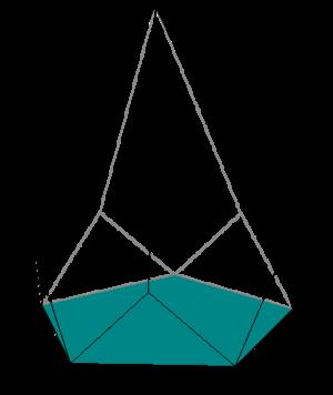 Diminished trapezohedron - Image: Diminished pentagonal trapezohedron