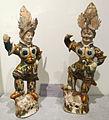 Dinastia tang, due re guardiani, vii-viii sec.JPG