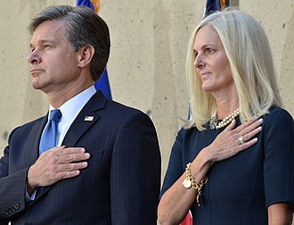Christopher A. Wray - Christopher Wray and wife Helen in 2017