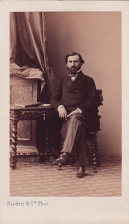 Disderi, Adolphe Eugène (1810-1890) - Verdi, Giuseppe