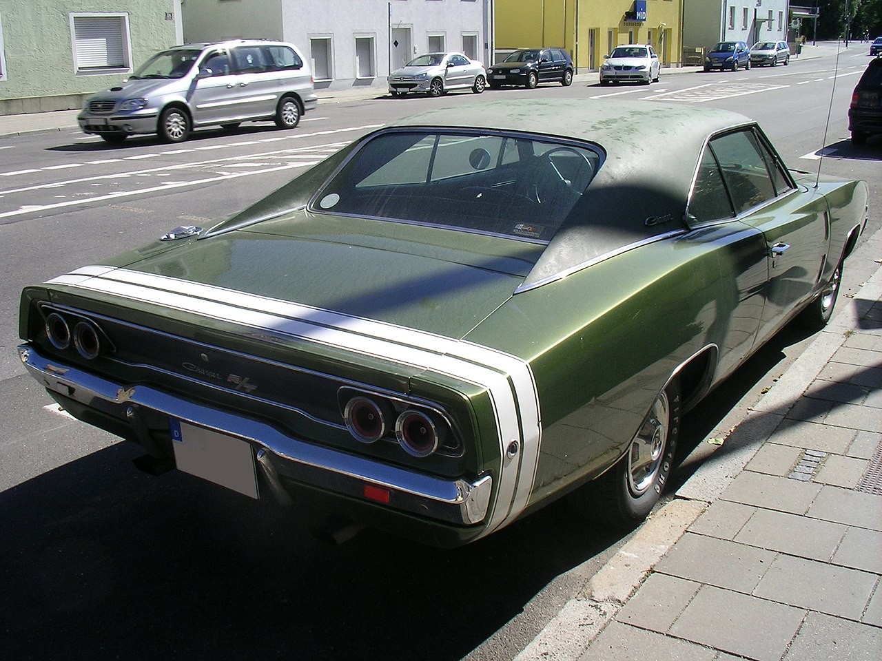 File Dodge Charger Rt 1968 Heck Jpg Wikimedia Commons
