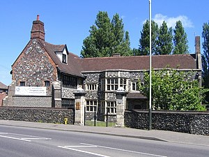 Joseph Hall (bishop) - The Dolphin Inn, Norwich, in the building where Bishop Hall had his palace from 1643 to 1647.