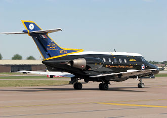 British Aerospace 125 - Hawker Siddeley Dominie at RAF Fairford, Gloucestershire, England, 2006