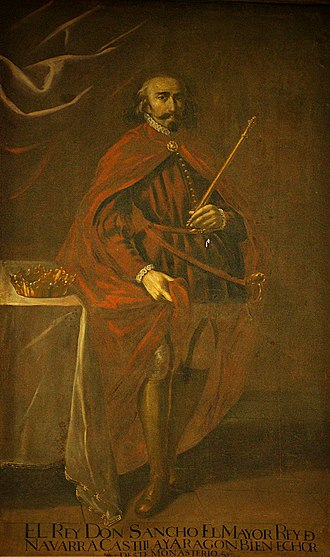 Sancho III of Pamplona - Sancho, as depicted by Juan Rizi in the 17th century