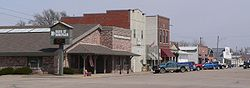 Downtown Doniphan: West Main Street, seen from the southwest