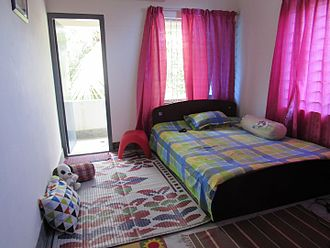 Bedroom - Bedroom in Bogra, Bangladesh