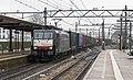 Dordrecht SBB Cargo 189 282 BAS-Melzo-Shuttle in de regen (16782175378).jpg