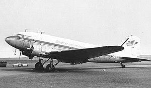 Vágar Airport - Faroe Airways Douglas DC-3