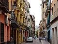 Downtown Street Scene - Zaragoza - Aragon - Spain (14587744491).jpg