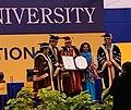Dr. Ajay Kumar in an award ceremony.jpg