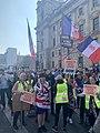 Drapeaux de la France libre à Londre.jpg