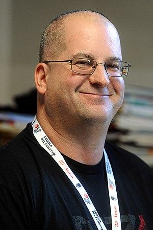 Drew Karpyshyn - Drew Karpyshyn at Lucca Comics & Games, 2014