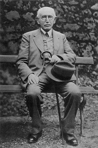 Alfred Dreyfus - A 74-year-old Alfred Dreyfus, ca. 1934