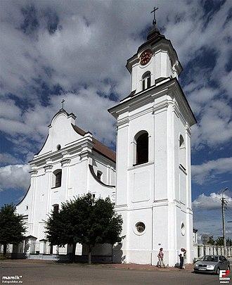 Drohiczyn - Church façade
