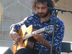 Duane Andrews - Duane Andrews performing at the 2007 Harvest Jazz & Blues Festival