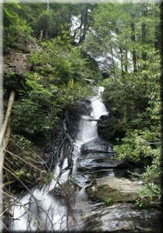 Dukes Creek - Dukes Creek Falls