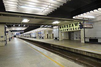 Warszawa Śródmieście railway station - Station interior, Platforms 2 and 3