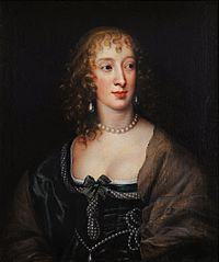 Portrait of Frances Weston née Stuart, Countess of Portland.