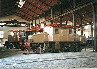 Three-phase AC railway electrification - FS Class E.550 (Italy 1906-65)