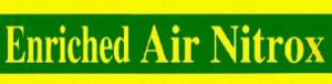 Nitrox - Typical Nitrox cylinder marking