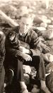 EB White and his dog Minnie