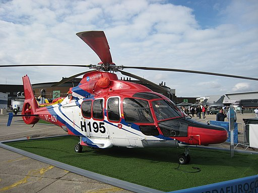 EC 155 B at BOURGET