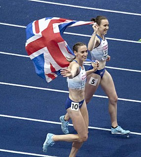 Laura Weightman English middle-distance runner