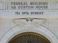 Eagle detail, Federal Building and U.S. Custom House, Denver, Colorado LCCN2010719100.tif