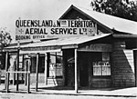 Early premises of QANTAS, in Longreach, Queensland (8653913128).jpg