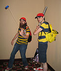 EarthBound Ness cosplayers (6159720848).jpg