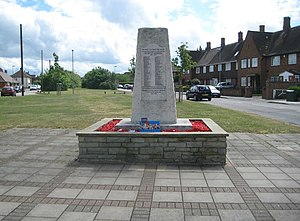Bedfont - Image: East Bedfont The War Memorial (geograph 2412044)