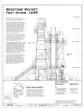 East Elevation - Marshall Space Flight Center, Redstone Rocket (Missile) Test Stand, Dodd Road, Huntsville, Madison County, AL HAER ALA,45-HUVI.V,7A- (sheet 3 of 7).png