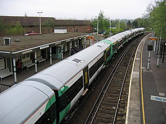 East Grinstead railway station - Image: East Grinstead Railway Station