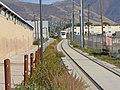 East along tracks from 300 East station, South Salt Lake, Utah, Oct 16.jpg