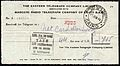 Eastern Telegraph Company receipt 1944.jpg