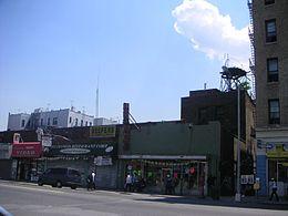 Ett Typiskt Omr 229 De I Stadsdelen Bronx D 228 R Lopez V 228 Xte Upp