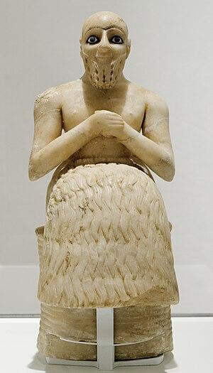 Statue of Ebih-Il - Image: Ebih Il Louvre AO17551 n 01