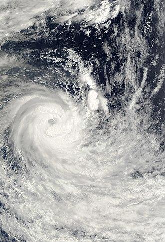 2001–02 South-West Indian Ocean cyclone season - Image: Eddy 2002 01 26 0355Z