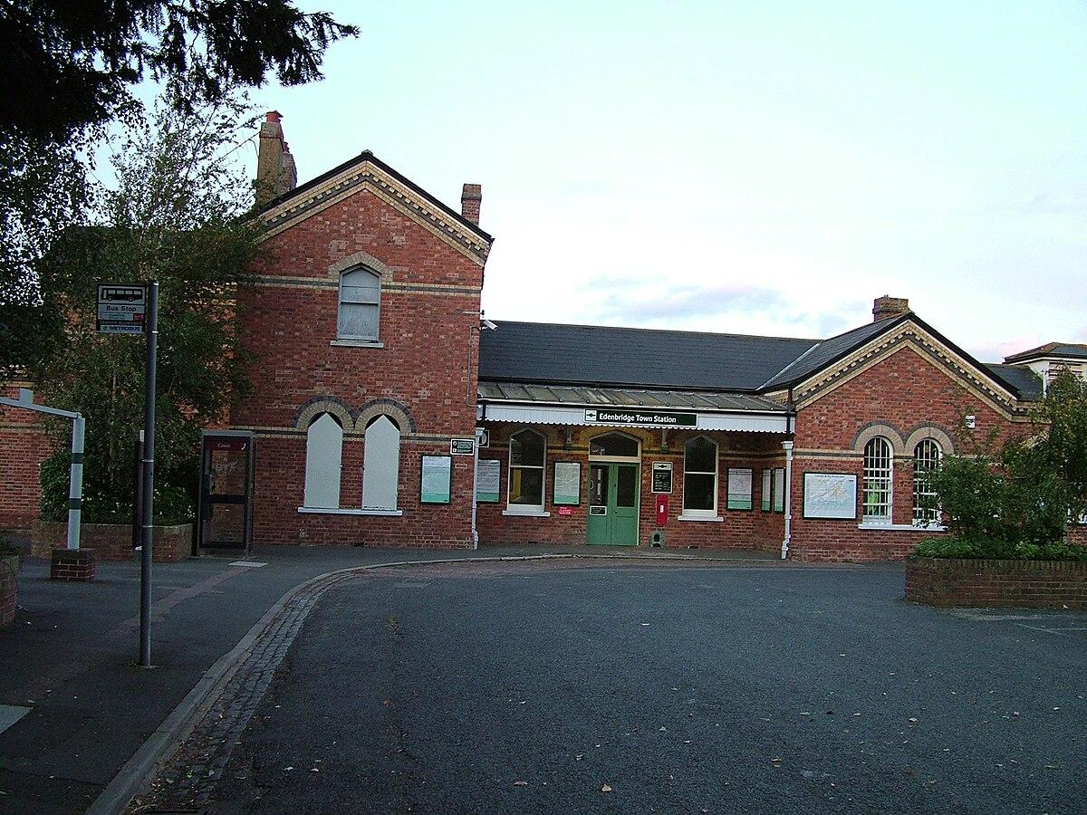 Edenbridge Town railway station - Wikipedia