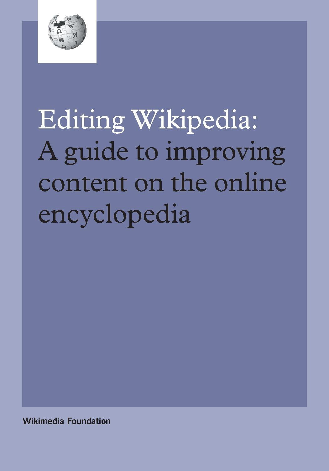 Welcome to Wikipedia